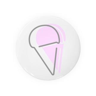 絶品アイス  缶バッチ Badges