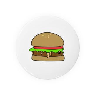 ウマイバーガー  缶バッチ Badges