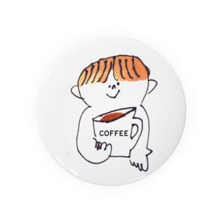ぼくとcoffee 缶バッジ