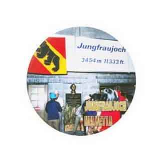 スイス:ユングフラウヨッホ駅 Switzerland: Jungfraujoch Station Badges