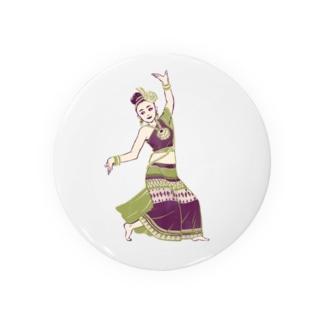 【タイの人々】伝統舞踊のダンサー Badges