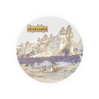 CG絵画:カッパドキアの煙突岩 CG art:Cappadocia / Turkey Badges