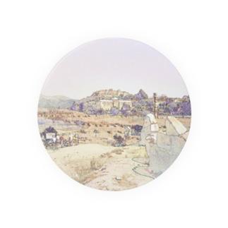 CG絵画:アルテミス神殿址 CG art: The site of the temple of Artemis / Ephesus (Efes/İzmir) Badges