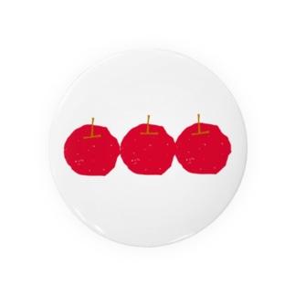 りんごリンゴりんご(赤) Badges