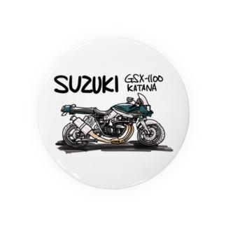 スズキGSX Badges