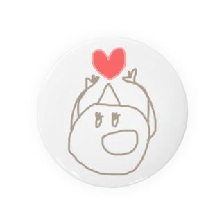 3角山:ももちゃん Badges