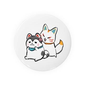 なかよしキツネとイヌ2 Badges