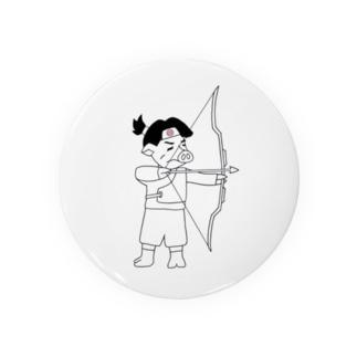 『豚桃』太郎、弓を射る! Badges