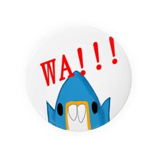 WA! デッチョ(正面向き) Badges