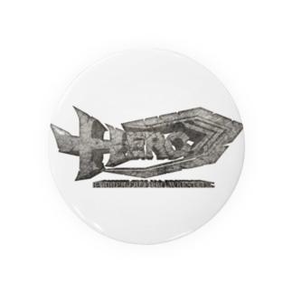 HERO立体ロゴ Badges