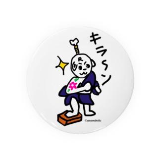 ロコタ君、サムライシリーズ Badges