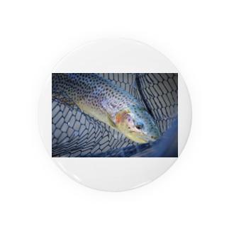 ドット柄多めの魚。 Badges