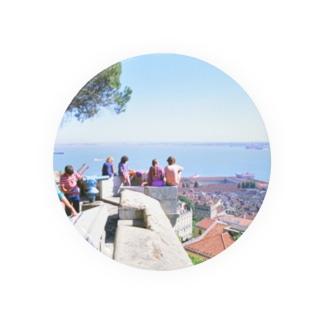 ポルトガル:リシュボアの風景写真 Portugal: Castelo de São Jorge / Lisboa ( Lisbon ) Badges