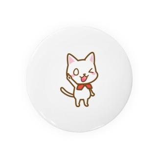 白ねこ公式キャラクター Badges
