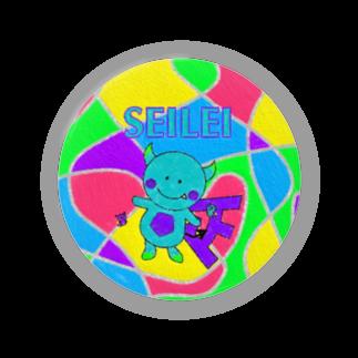 福地正のグッズの正霊 絵 缶バッジ Badges