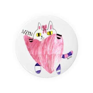 猫のニニ Badges