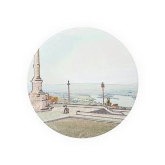 CG絵画:ヴィアナ・ド・カステロの風景画 CG art: Rio Lima / Viana do Castelo Badges