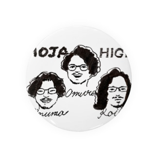 Unofficial髭モジャlismツアーグッズ Badges
