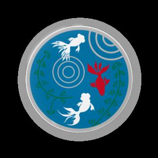 ジャパニーズスタンダードの金魚・丸 Badges
