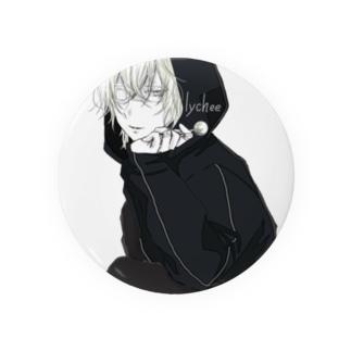 飴男子(ライチ) Badges