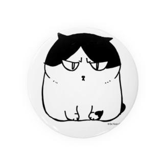 ふしぎ猫 コムちん Badges