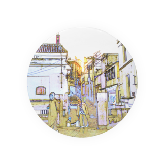 FUCHSGOLDのCG絵画:タンジェの風景 CG art: Tanger / Tangier Badges