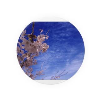 桜 サクラ cherry blossom DATA_P_093 Badges