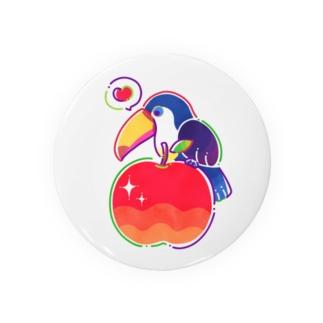 オオハシりんご Badges