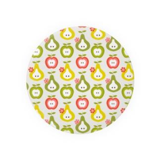 カラフルりんご Badges