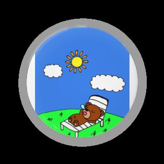 赤澤 将吾のクマ吉くんの日向ぼっこ Badges