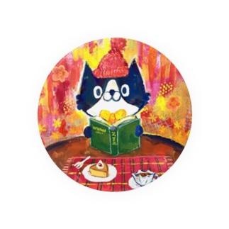 猫ティータイム Badges