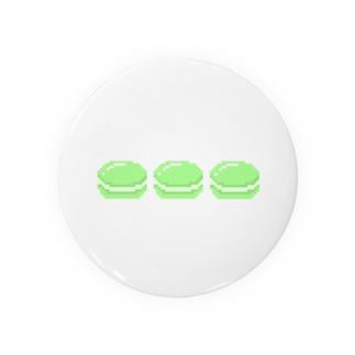 dendendoのドットマカロン(グリーン) Badges