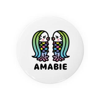 toodle doodleのアマビエツインズ♥ Badge