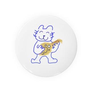 ウードを持つ猫 Badges