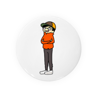hiro.pのhiro.p メガネくん Badges
