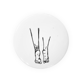 157_imの頑張ってる人の足は痛い(デザインver.) Badges