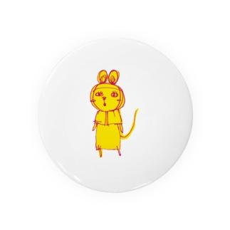 パンダステルス支店のパンダマウス頭巾 雑な変身(怒り少なめ) Tin Badge