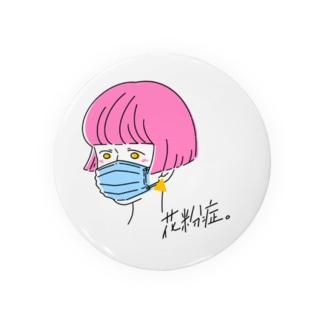 花粉症ガール Badges
