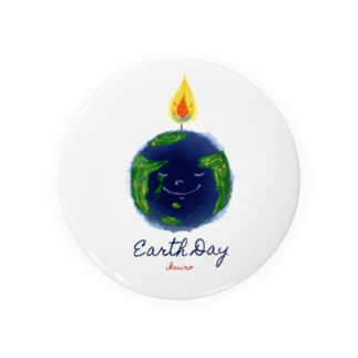 Earth Day 地球の日 Badges