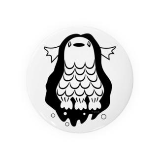 アマビエ(モノクロ) Badges