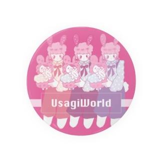 UsagiWorld 缶バッジ Badges