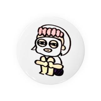 [スキンケア・ぼち子さん]ぼっちのためのかんバッチ Badges