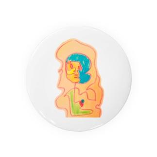 カラフル人間 Badges