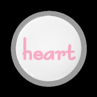 アメリカンベースのハート Badges