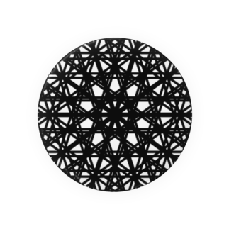 左の幾何学模様 series Badges