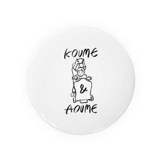 KOUME&AOUME_TATE Badges