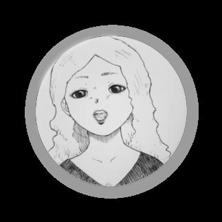 ★ 藤崎幾何 ★ illustrationの×××× 女の子 Badges