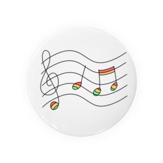 虹の音符たち Badges