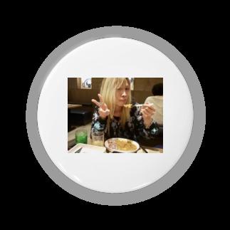 トマピー@ショコラのカレー食べながらピースするトマピー Badges