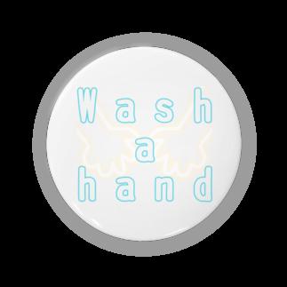 しおい&しおん  毎月下旬 定価セールのWash a hand Badges